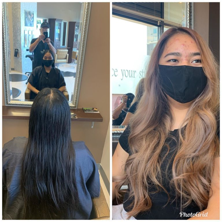 Hair Color and Balayage Hair for Balck Hair Denver, CO