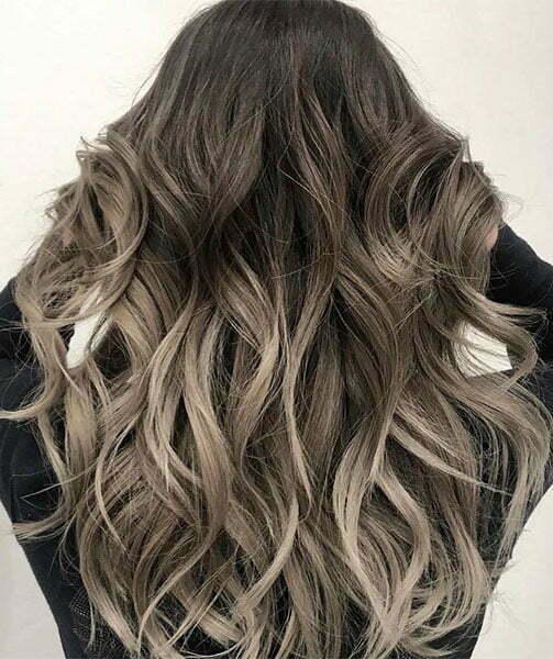brown hair balayage, Salon Vo Denver, CO