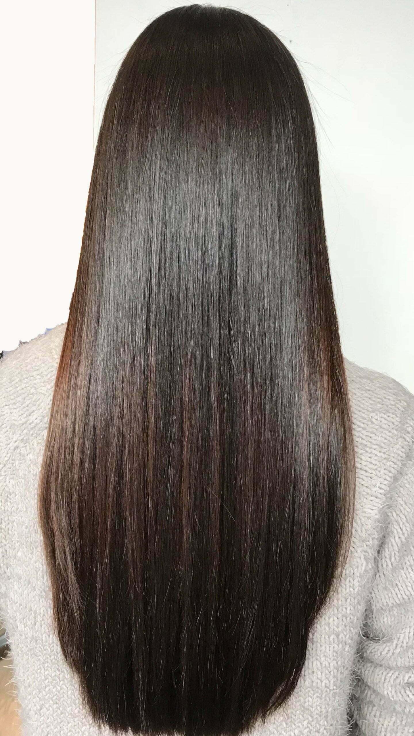 permanent hair straightening treatments Denver, CO