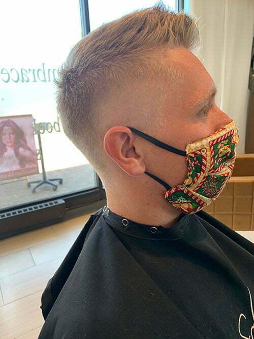 men's haircut near me Denver, CO - Salon Vo
